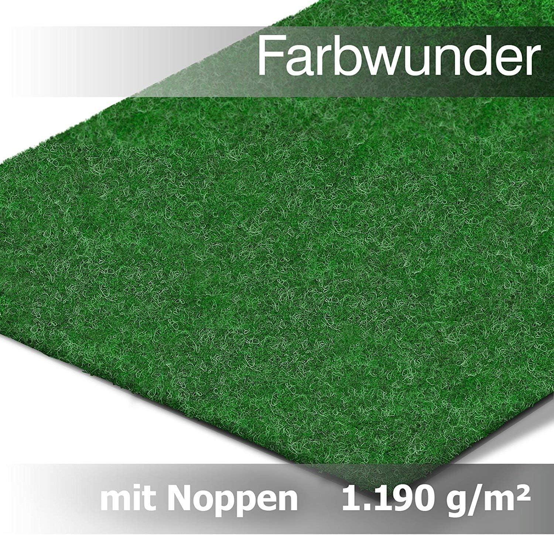 Evergreen Rasenteppich Kunstrasen Grün 8 m x 8 m  Amazon.de Baumarkt