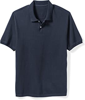 Amazon Essentials Men's Cotton Pique Polo Shirt fit by DXL