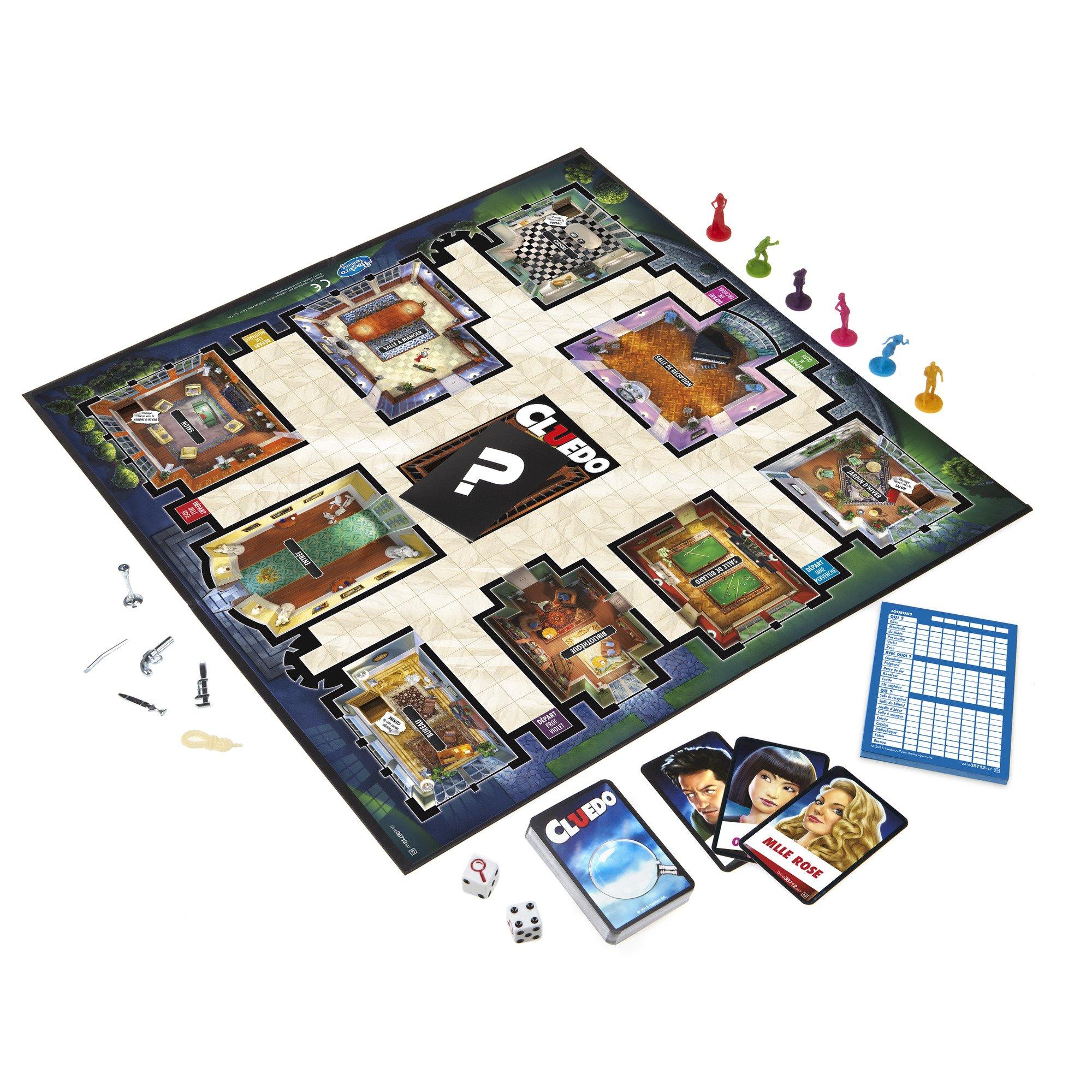 Hasbro Gaming - Juego en Familia Cluedo 38712 (versión Francesa): Amazon.es: Juguetes y juegos