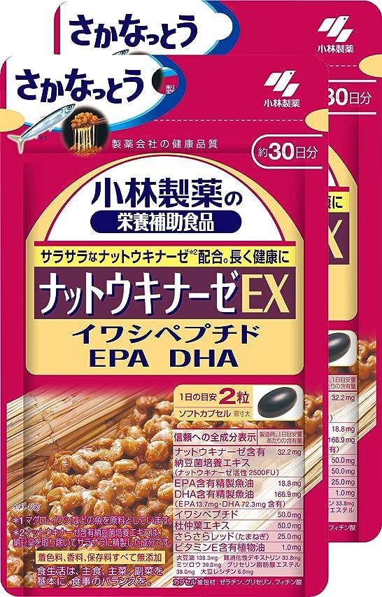 トロリー処方するれる【まとめ買い】小林製薬の栄養補助食品 ナットウキナーゼEX 60粒×2コ