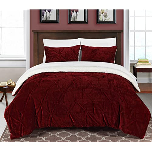 Red Velvet Comforter Amazon Com