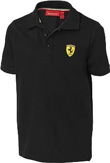 Ferrari Black Size-116 Kids' Polo Shirt
