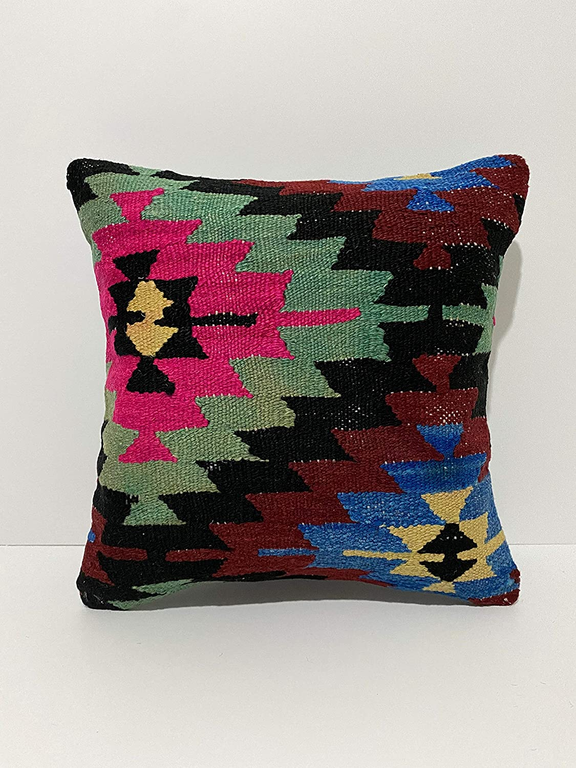 Kilim Pillow Free shipping on posting reviews Cover 16x16-Decorative Pillow-Unique Decor-hou Ranking TOP8 Home