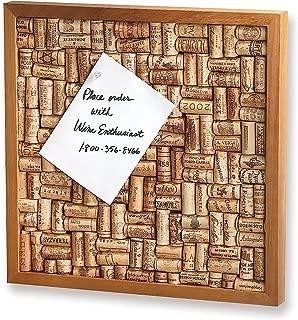 Wine Enthusiast Wine Cork Board Kit