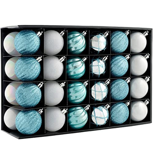 Blue And Silver Christmas Decorations Amazon Co Uk