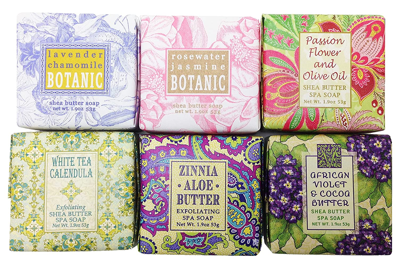Spring Garden Cheap SALE Start Bloom Flower Shea Butter PACK Soap Set 3 - Low price Gift