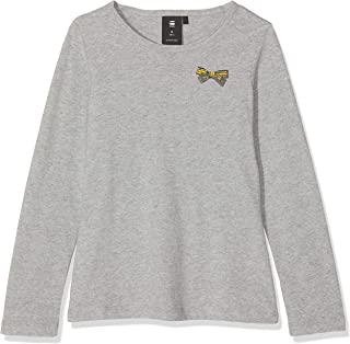 G-STAR RAW Sp10505 LS tee Camiseta de Manga Larga para Niñas