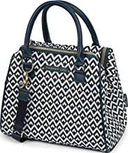 Dabney Lee Thermal Insulated Lunch Tote - Remi (Black)