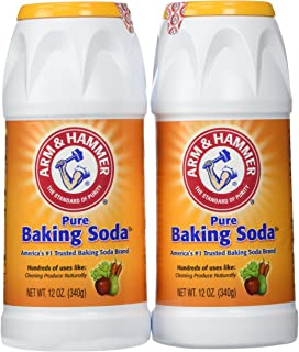 Arm & Hammer Pure Baking Soda Shaker 12 Oz (Pack of 2)