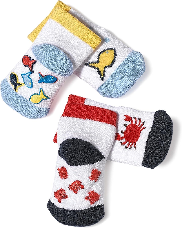 Jefferies Socks Fish, Crab And Starfish Ocean Play