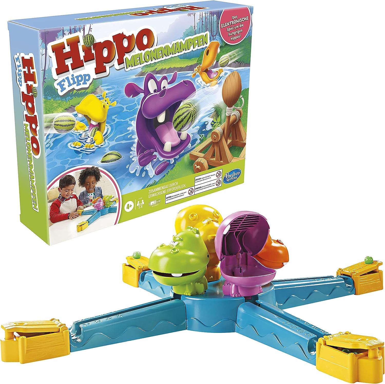 Hasbro E9707800 70% OFF Outlet Hippo Flipp Melon Children Aged Combat Soldering for Game