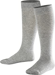 1 Pair Grey FALKE Kids Glitter Dot Knee-Highs UK 12-2.5 Manufacturer size: 31-34 Light Grey 3400 84/% Cotton