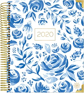 bloom daily planners 2020 Hardcover Calendar Year Vision Planner (January 2020 - December 2020) - Monthly and Weekly Column View Calendar Organizer - 7.5