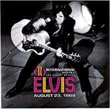 Live At The International Hotel Las Vegas, Nv August 23, 1969 Dl Code Rsd