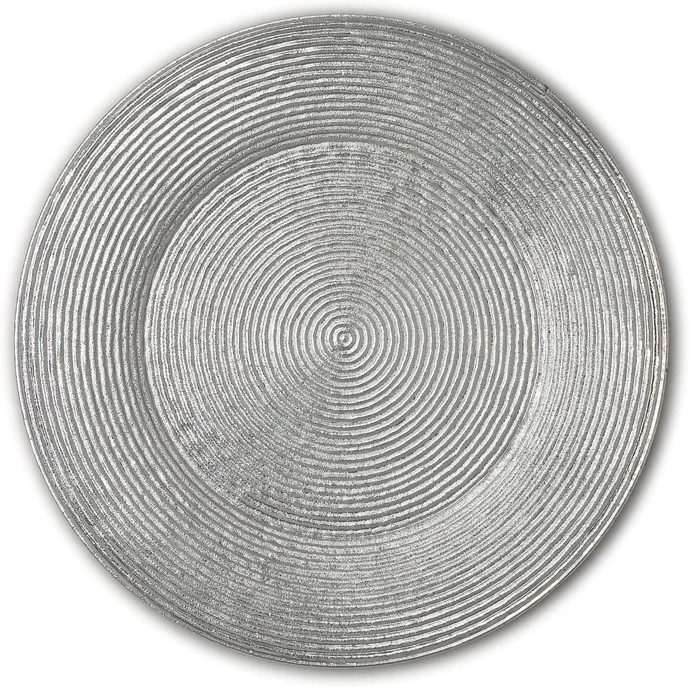 Lovely Christmas Dinnerware Formal Max 42% OFF Max 50% OFF Spiral Round Charger 13-Inch