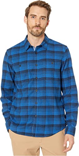 Lapidge Performance Flannel Code Blue Plaid