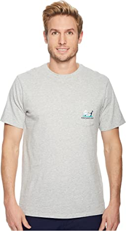 Vineyard Vines - Short Sleeve Golf Line Pocket Tee