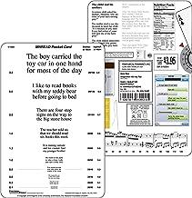 MNRead Pocket Eye Chart Test