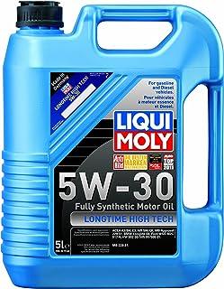Liqui Moly 2039 Longtime High Tech 5W-30 Synthetic Motor Oil - 5 Liter Jug