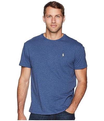 Polo Ralph Lauren Classic Fit Crew T-Shirt (Derby Blue Heather) Men