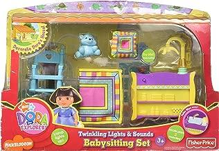 Dora the explorer twinkling lights & sounds babysitting set