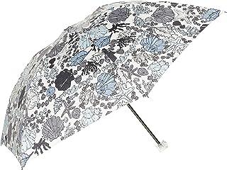 [ジルスチュアート] AURORA(オーロラ) JI-17026-26マリンプリント軽量折りたたみ傘 レディース