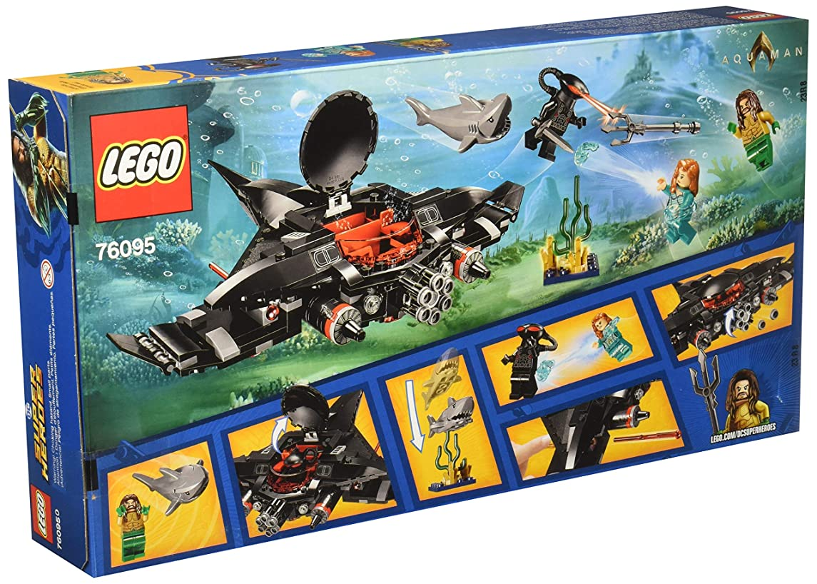 LEGO DC Super Heroes Aquaman Black Manta Strike 76095 ~ 235 pieces