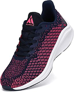 Mishansha Homme Femme Chaussures de Course Running Antidérapant Fitness Trail Sneakers