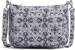 Vera Bradley womens Recycled Cotton Carson Shoulder Bag Crossbody Purse Crossbody Purse