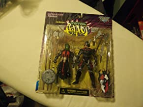 Total Chaos Series 1:The Conqueror vs. Dragon Blade Collectors Set By McFarlane