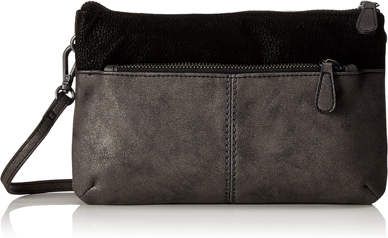 S.Oliver (Bags) 39.712.94.4499, Women's CrossBody Bag, black (Black black), 3x15x24.5 cm (B x H T)
