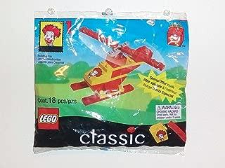 LEGO 1999 McDonald's Happy Meal Toy Classic (2032) Ronald McDonald's Helicop...