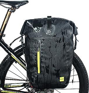 comprar comparacion Selighting Bolsa Alforja Trasera para Bicicleta 25L, Grande Bolsa Bicicleta Multifunción Carretera MTB Bicicleta de Montaña