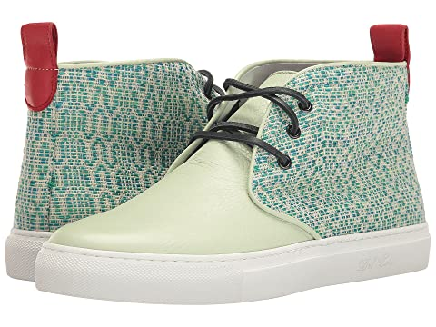 High Top Textile/Leather Chukka Sneaker Del Toro