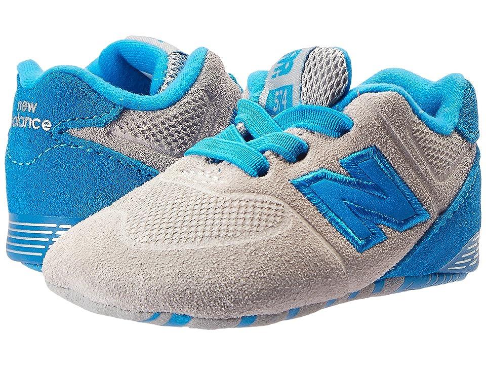 New Balance Kids KL574v1 (Infant) (Grey/Blue) Boys Shoes