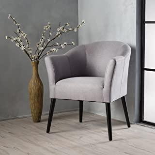 Christopher Knight Home Cosette Arm Chair, Light Gray
