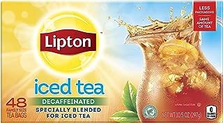 Lipton Family Iced Tea Bags, Black tea, 48 ct, pack of 6