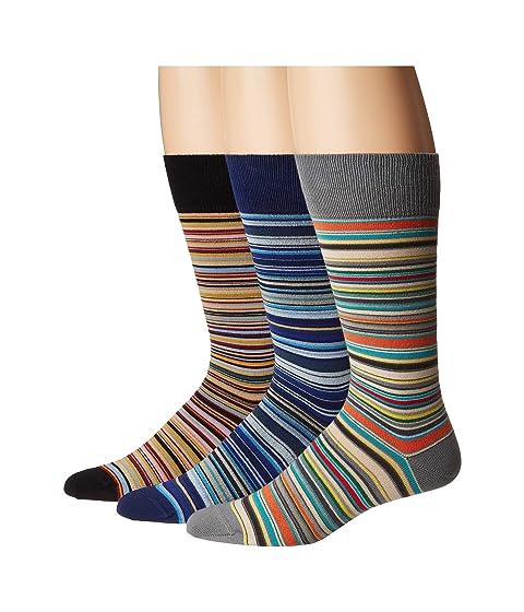 Paul Smith 3-Pack Multistripe Socks