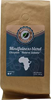 Ethiopian Coffee Whole Bean, Fresh Roasted Coffee Beans 12 Oz, Whole Bean Coffee Light Roast Organic Ethiopian Natural Sidamo Fair Trade Coffee, USDA Coffee Beans Organic, Fair Trade Coffee Beans Mild