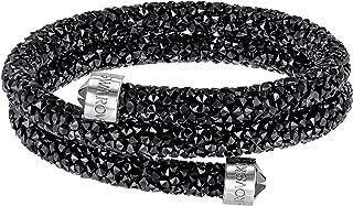 Black Double Crystaldust Bangle