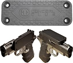 Gun Magnet Mount Holster for Vehicle and Home - Rubber Coated Rated 43 Lbs Firearm Accessory - Magnetic Gun Mount Concealed Carry Handgun Holder for Truck Car Desk Bedside Pistol Rifle Magazine Vault