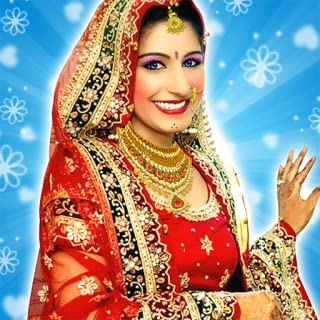 Indian Wedding girl makeover: Reception party