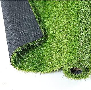 QYH 3.3ft x 5ft 3.3'x 5' Artificial Mat Fake Grass Turf Green Lawn Carpet Indoor/Outdoor