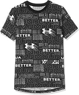 Under Armour Boy's Perpetual Printed Tee Tees And T-Shirts