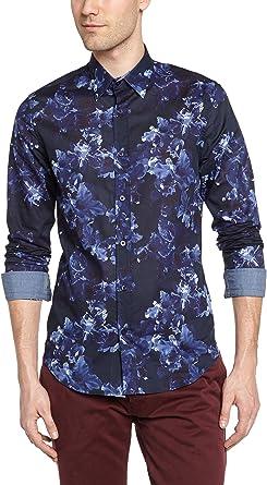 Desigual David Camisa para Hombre