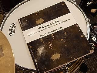 40 Rudiments:: Torrent of Rhythm split into understandable bite-size pieces