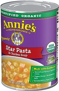 Annie's Homegrown Star Pasta & Chicken Soup, 14 Oz