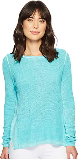 Elliott Lauren - Thermal Stitch Stone Wash Sweater