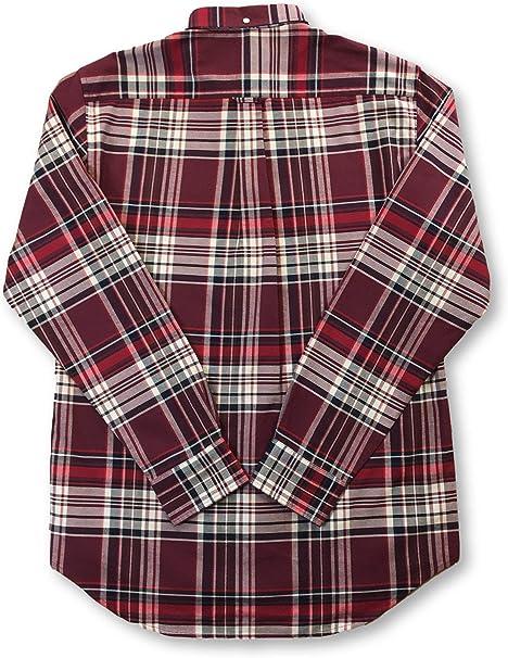 Gant - Camisa de cuadros Oxford cepillada, ajuste regular ...