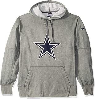 Dallas Cowboys NFL Mens Nike Performance Circle Logo Fleece Hoodie
